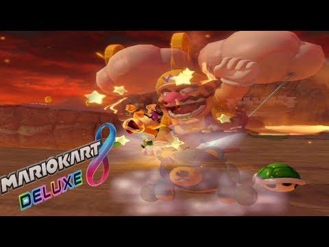 レースゲームでキル厨を行う者は報いを受ける模様【マリオカート8DX】