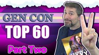 Top 60 Board Games At Gen Con 2019 | Part 2