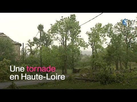 Haute-Loire : Une mini-tornade provoque de sérieux dégâts sur deux communes