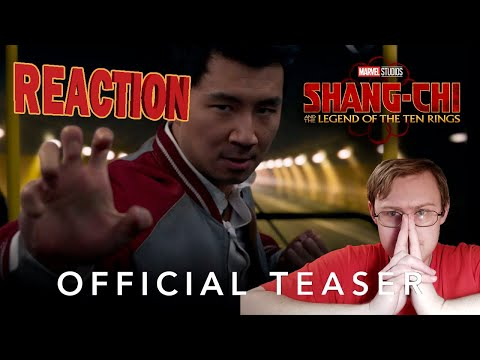 Marvel Studios' Shang-Chi and the Legend of the Ten Rings   Official Teaser   Russian Reaction