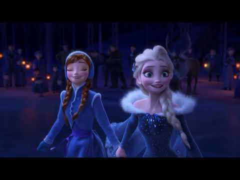 松たか子&神田沙也加の美声!映画『アナと雪の女王/家族の思い出』日本語版歌唱シーン(♪あなたといるだけで)