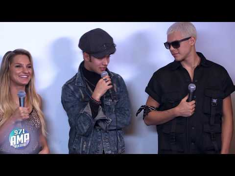 CNCO Chats With AMP Morning Show - FULL INTERVIEW
