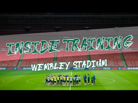 INSIDE TRAINING | Ireland squad prepare for England at Wembley