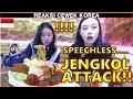 REAKSI CEWEK KOREA PERTAMA KALI MAKAN JENGKOL DI RESTORAN INDONESIA