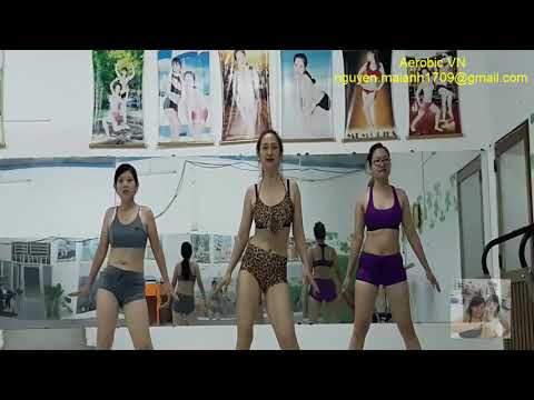 Zumba aerobic dance to lose weight fast within a week of home exercise, improve health