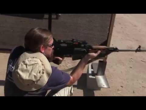 Yugo M76 Sniper in the 2-Gun Action Challenge - YouTube