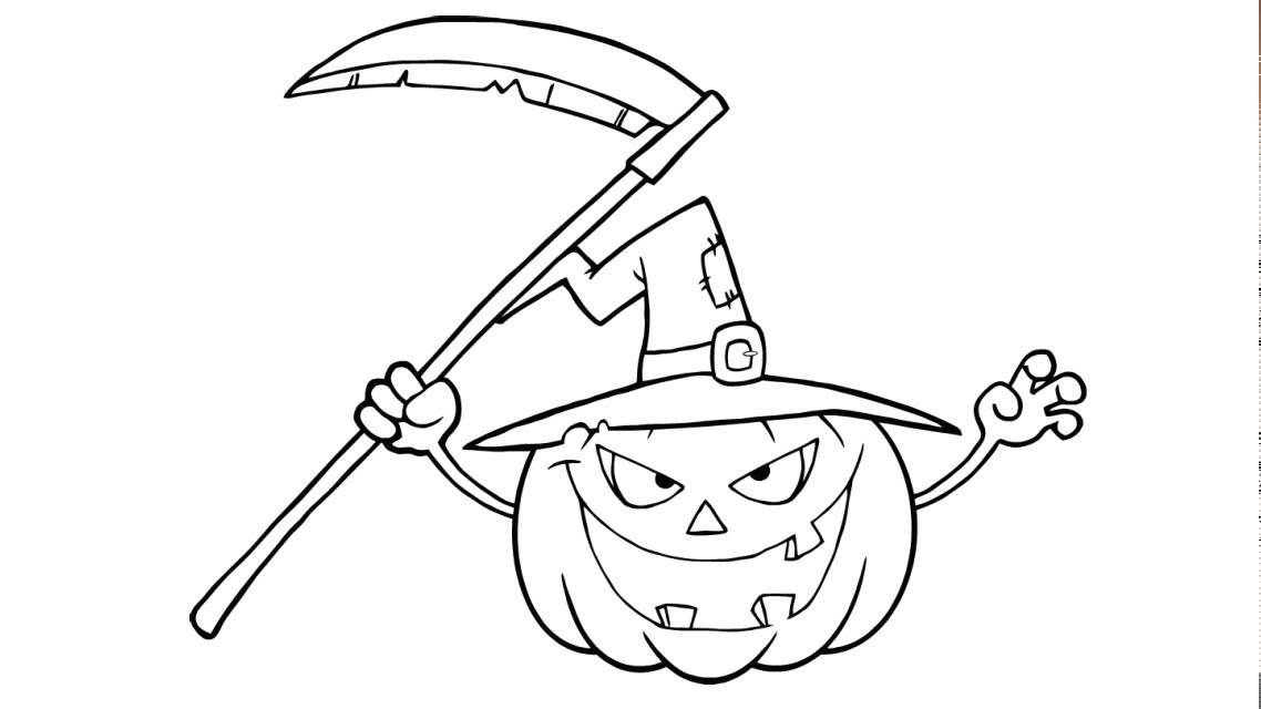 Wie Zeichnet Man Ein Kürbis Für Halloween