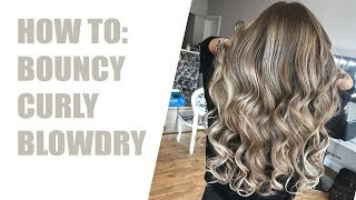 Pout Patrol: How to - Big Bouncy Curly Blowdry
