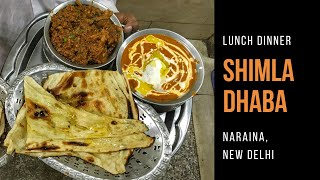 Shimla Dhaba in Naraina, New Delhi