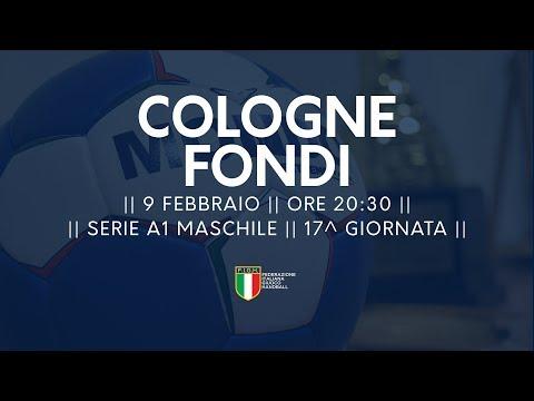 Serie A1M [17^]: Cologne - Fondi 28-22