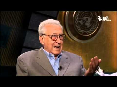 Brahimi tells Al Arabiya Syrian govt has to meet people's demand for change