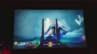 OPTOMA UHD60 DESTINY WARMIND GAMEPLAY LOOKS AMAZING GREAT PROJECTOR FOR GAMING