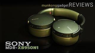 รีวิว : หูฟังไร้สาย Sony MDR-XB950N1