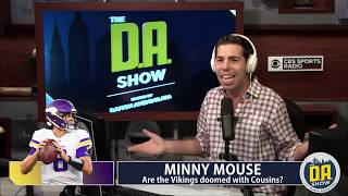 The Vikings are doomed with Kirk Cousins I D.A. on CBS