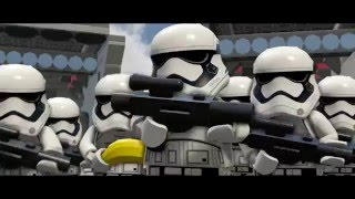 LEGO® Star Wars: The Force Awakens Gameplay Reveal Trailer #2(See LEGO Star Wars The Force Awakens in action for the first time in this new gameplay reveal trailer! Pre-order now for June 28: ..., 2016-03-23T13:02:15.000Z)