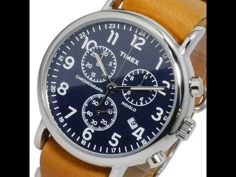 38e99ccc8f80 Timex Weekender and Waterbury Watches-Great Style on a Budget - YouTube