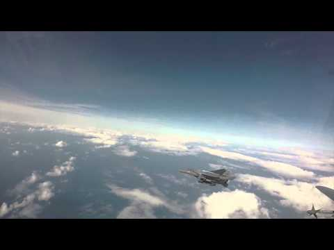 48th Fighter Wing Commander Go Pro Footage