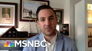 National Guard Officer Weighs In On D.C. Demonstrations | Morning Joe | MSNBC
