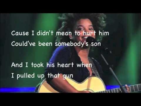 Julia van der Toorn - Man Down (Lyrics)