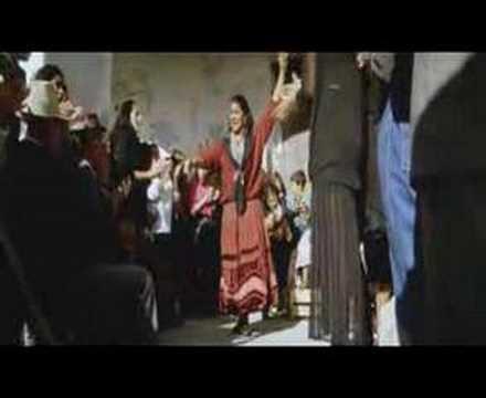 Spanish Gypsy flamenco dance