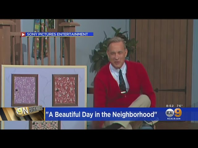 Tom Hanks Transforms Into Mr  Rogers In 'A Beautiful Day In