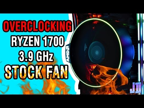 How Far Can You Overclock Ryzen 1700 With A Stock Cooler? - Don't do this at home