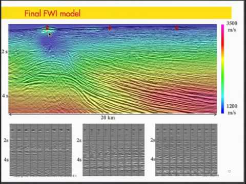 Multi Parameter Waveform Inversion of Low Frequency, Wide-Aperture Seismic Data - 2014 IRIS Workshop