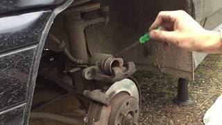 Замена тормозных колодок на ВАЗ 2114