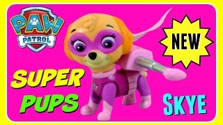 Paw Patrol Super Pups SKYE!  NEW 2016 PAW PATROL SUPER PUPS