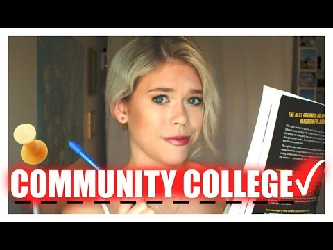 COMMUNITY COLLEGE: My experience & Advice! // Katie Legate
