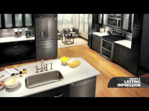 lg-black-stainless-steel-kitchen-appliances