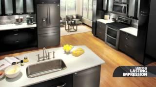 LG Black Stainless Steel Kitchen Appliances