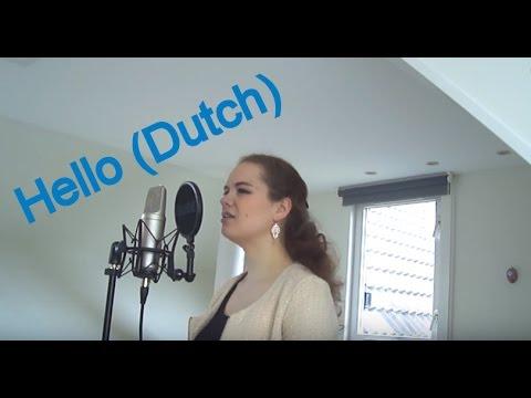 Hello - Adele | Dutch version (Hallo) by Martine (Dutch lyrics)