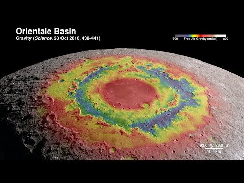 Orbit the Moon in Ultra High Definition 4k