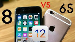 iPHONE 6S Vs iPHONE 8 On iOS 12! (Speed Comparison) (Review)
