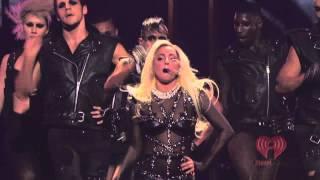 Lady GaGa Live iHeart Radio Bad Romance, Just Dance HD