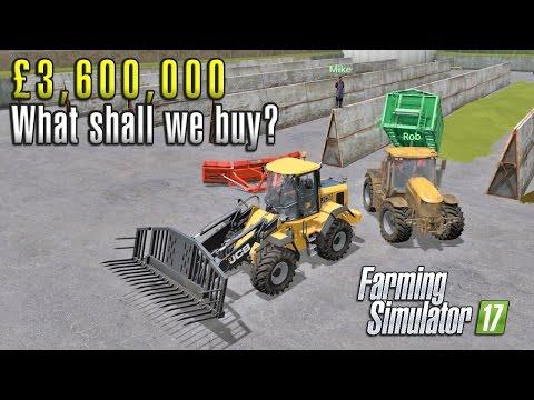 £3,600,000 | Multiplayer Farming Simulator 17 | Sandy Bay Ep 30