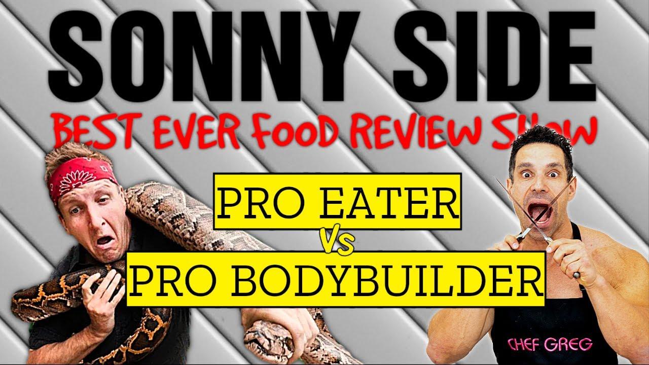 Pro Eater VS Pro Bodybuilder || The Best Ever Diet VS The Best Ever Food