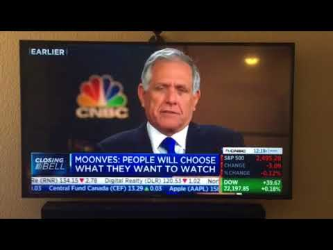 Leslie Moonves, CEO of CBS Corp on CNBC