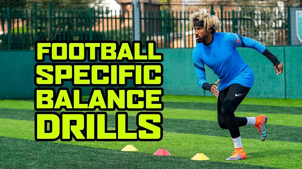 IMPROVE YOUR BALANCE FOR FOOTBALL WITH THESE EXERCISES!  ? ⚖️