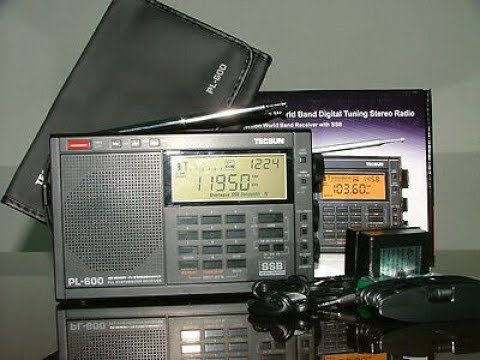 Top Ten Favorite Shortwave Radios I Own Tecsun PL 600 LW AM FM SW SSB Portable Receiver