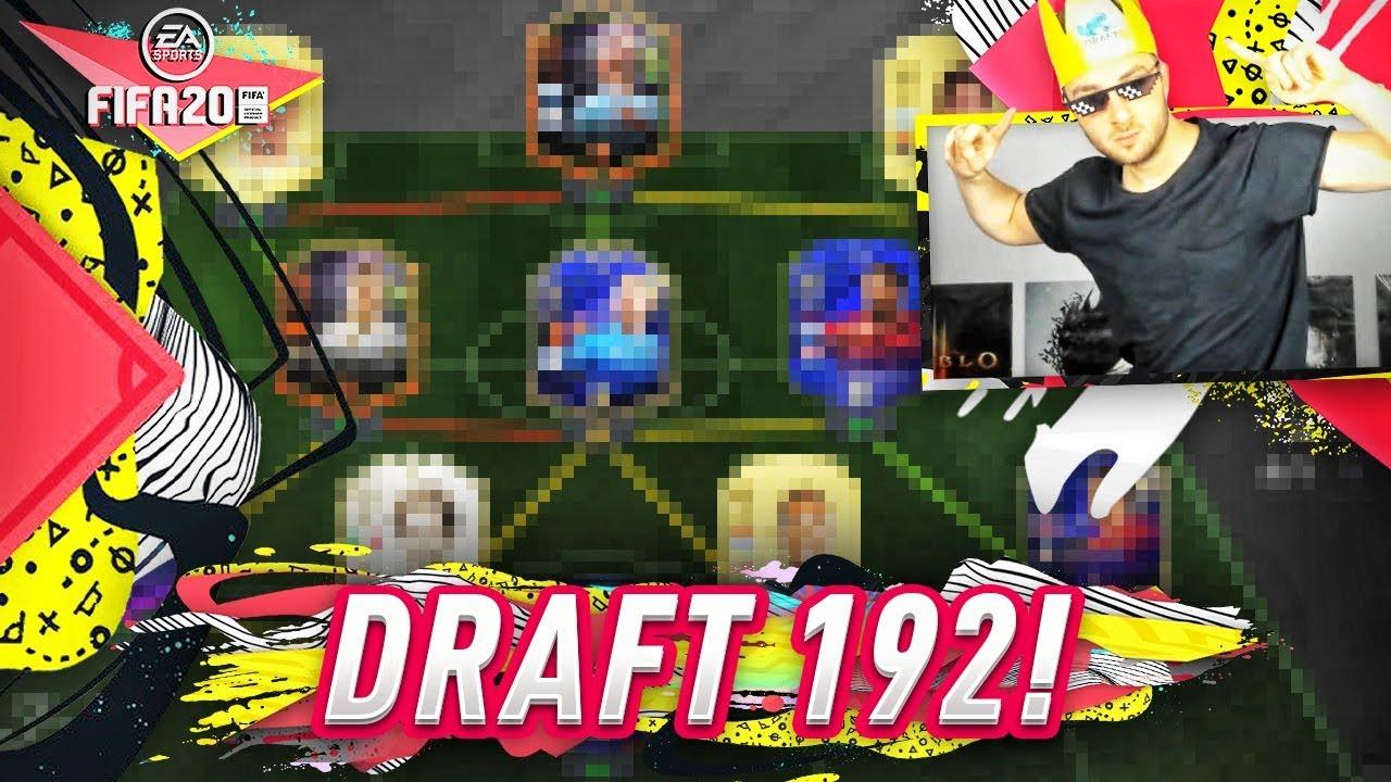 DRAFT 192 ZROBIONY !!! W KOŃCU !!! FIFA 20