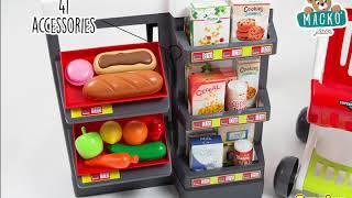 Üzlet gyerekeknek Szupermarket Smoby elektronikus