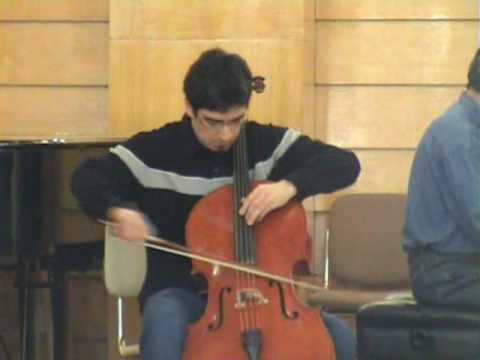 Haydn: Cello Concerto I in C (3° mov.) - Davi Barreto