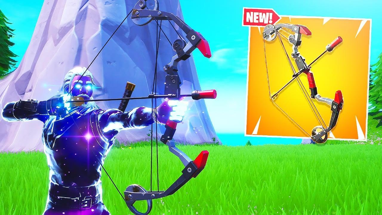 Fortnite Boom Bow Png The New Boom Bow Is Amazing Youtube