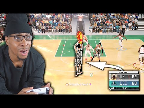 This Game Made Me Question Everything ... NBA 2K21 No Money Spent #4 |