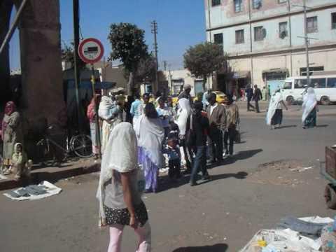 Eritrea: Market in Asmara エリトリア:アスマラのマーケット