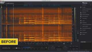 Auto-separate Noise from Tonal Audio with iZotope RX® 3