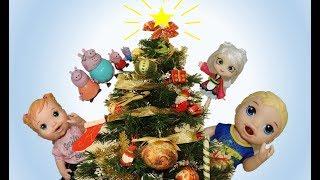 Feliz Natal! Merry Christmas! Feliz Navidad! Pedrinho, Aninha Madame Mimi e Família Peppa Pig