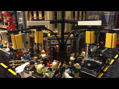 Lego City Update - February 2017 - Sloped Road, Hobbit, Elevated Town, Subway, Police Station MOC!